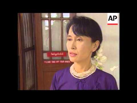 Burma - Aung San Suu Kyi Interview