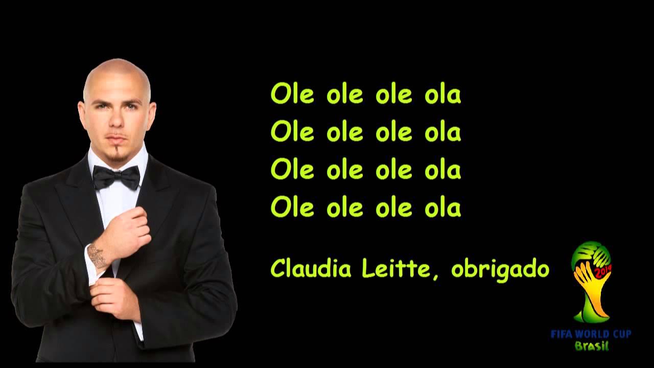 Lyrics of ole ola