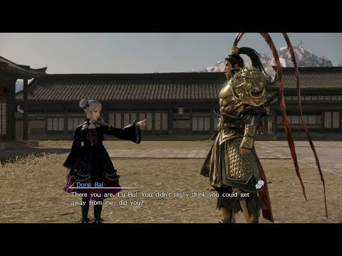 Dynasty Warriors 9 - Lu Bu Story Chaos Difficulty Part 4 - Dong Bai's Revenge / 真・三國無雙8 呂布 修羅 4