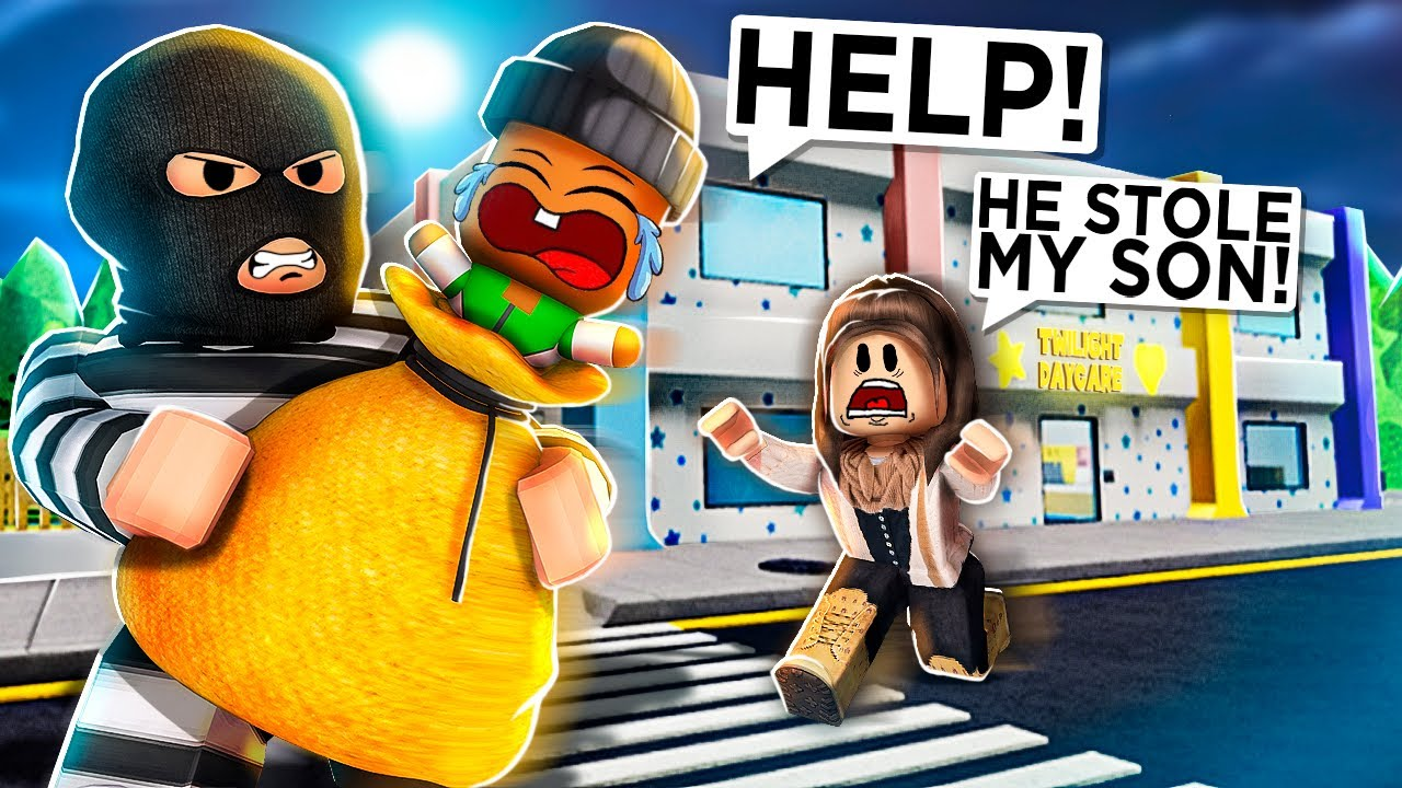 I Got KIDNAPPED In Roblox Twilight Daycare..