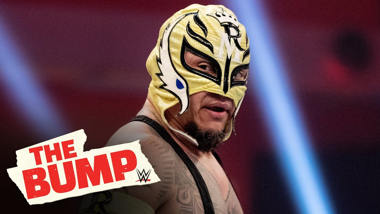 Rey Mysterio would put his mask on the line in WWE: WWE's The Bump, April 29, 2020