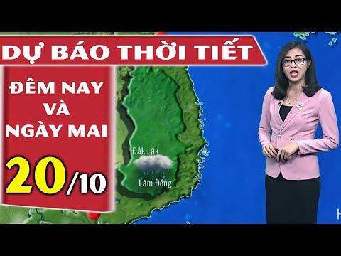 Dự báo thời tiết hôm này và ngày mai 20/10   Dự báo thời tiết 3 ngày tới