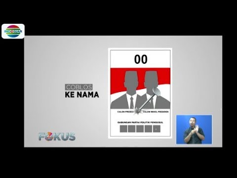 Agar Tidak Keliru, Simak Cara Coblos yang Benar di Pemilu Serentak 2019 - Fokus