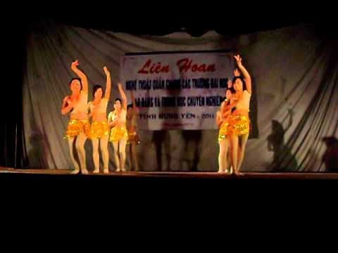 Múa khúc ca Đồng Tháp - Cao đẳng nghề Dịch vụ Hàng không