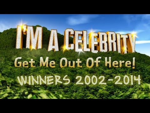 I'm celebrity Get Me out of here 2002-2014 winners