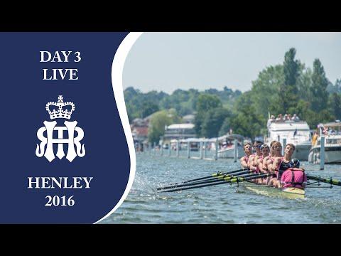 Day 3  - Full Replay | Henley Royal Regatta 2016