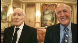 I spoke with Jerry Leiber and Mike Stoller at NARM. They received t...