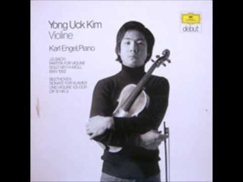 Brahms Violin and Piano Sonata NO. 1 - Kim Young Uck  & Karl Engel