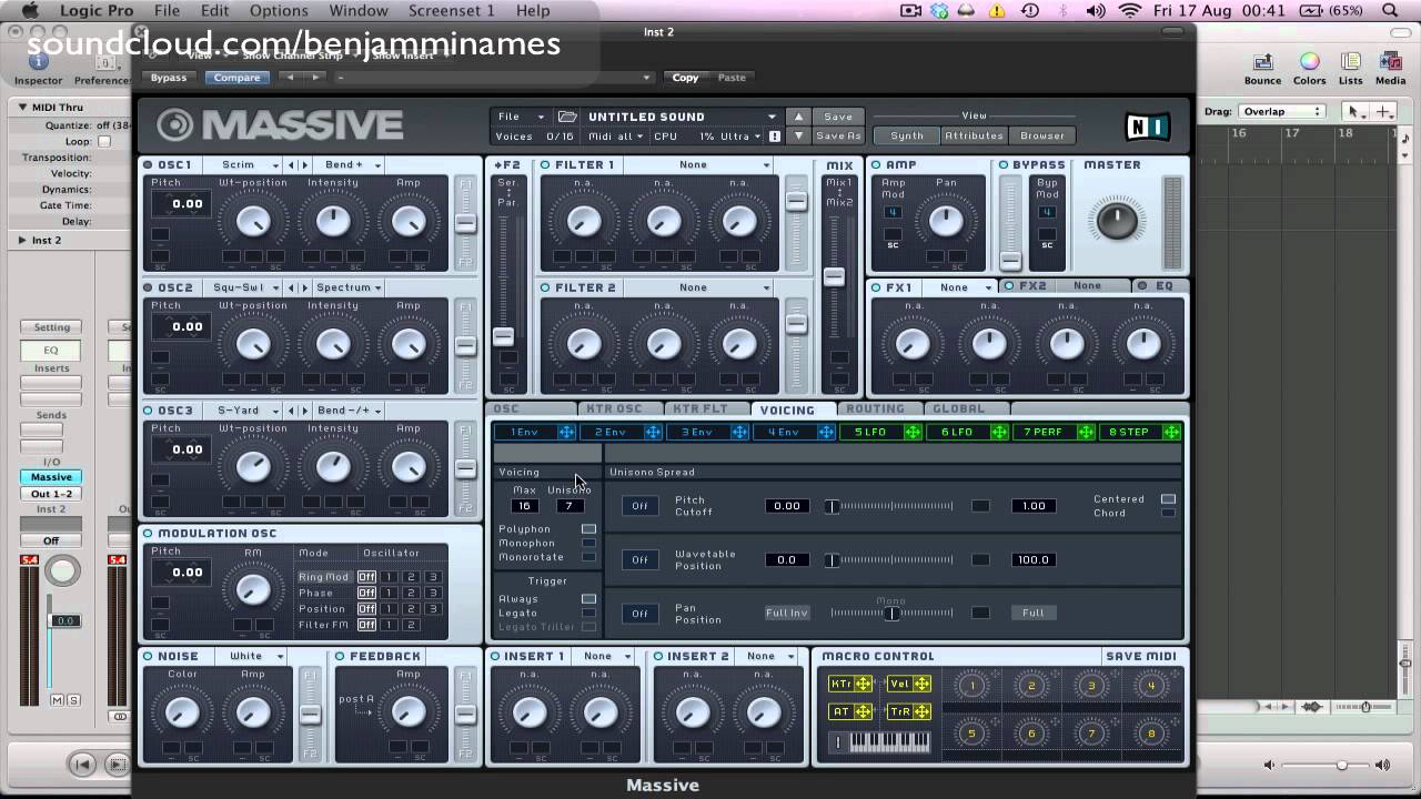 Download Creating a Screaming Dirty Bass in Massive