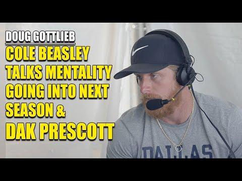 Cole Beasley Talks Next Season and Dak Prescott