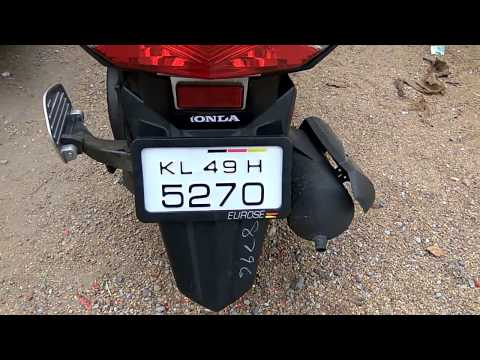 Honda Dio Number Plate Design Bikes Euros Number Plates Youtube