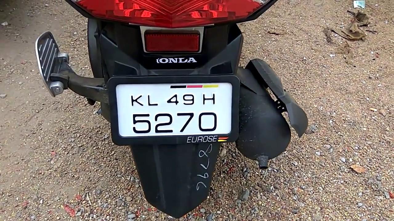Design car number plates india - Honda Dio Number Plate Design Bikes Euros Number Plates Car Accessories