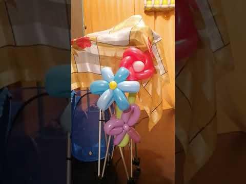 Download creation ballon fleurs harmonie de couleurs mutlicolore