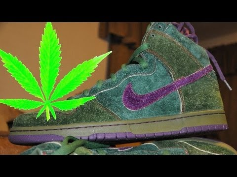 Weed smokers rejoice: NIKE celebrates 420 with pothead shoes