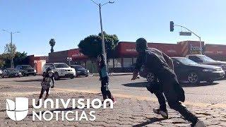 La historia de 'Parkita', el niño que se volvió viral en redes con su acto de lucha libre en Tijuana