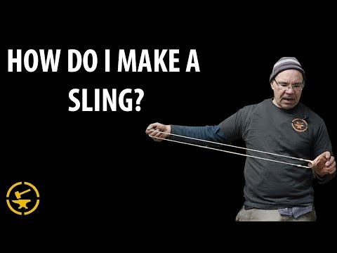 How to make a sling