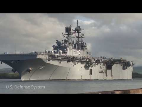 The New America-Class LHAs Will Replace the Tarawa-class ships in USMC Service