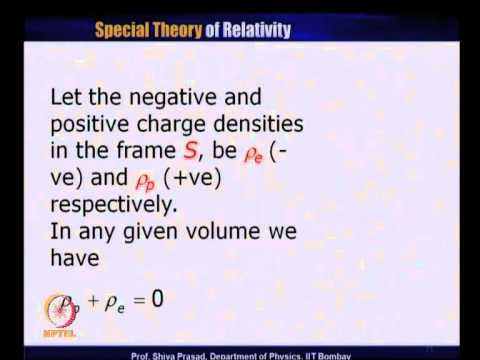 Mod-01 Lec-24 Current Density Four Vector and Maxwell Equati