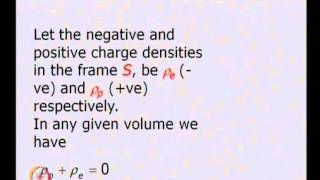 Mod-01 Lec-24 Current Density Four Vector and Maxwell Equation