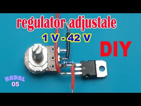 Cara Membuat Regulator Adjustable 1.1V To 42V Ide Kreatif Elektronik DIY Simple Voltage Regulator
