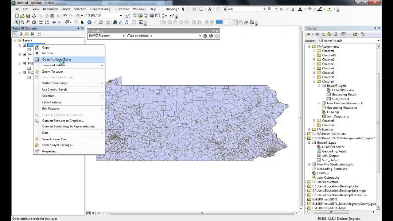 Gis tutorial 1 assignment 7 1 part 2 youtube gis tutorial 1 assignment 7 1 part 2 sciox Gallery