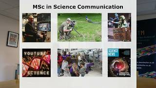 Taught Master's in Science Communication