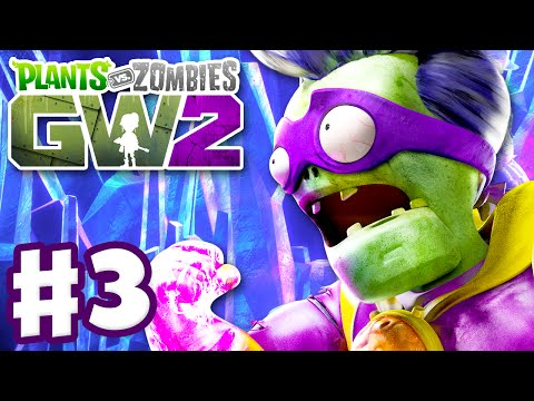 Plants vs. Zombies: Garden Warfare 2 - Gameplay Part 3 - Super Brainz Quests! (PC)