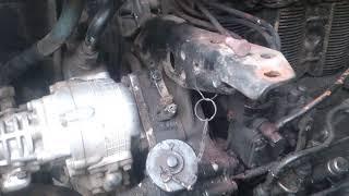 Заміна випускного колектора Т-40/Replacement of exhaust manifold T-40