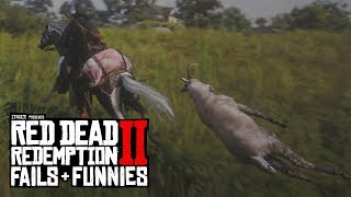 Red Dead Redemption 2 - Fails & Funnies #56