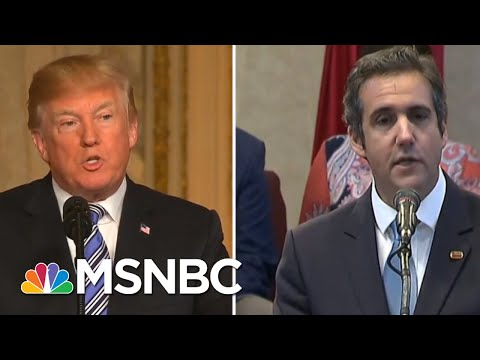 White House Reaction To Paul Manafort And Michael Cohen Indictments | Velshi & Ruhle | MSNBC