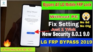 Bypass Frp Lock Lg G6 | Dejachthoorn