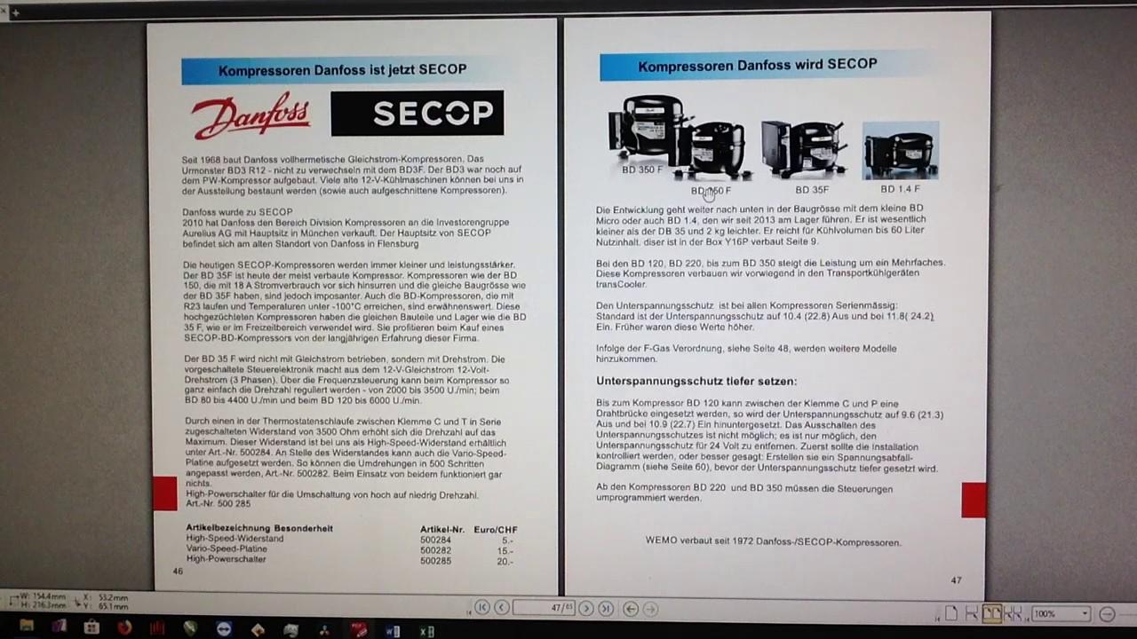 Kleiner Kompressor Kühlschrank : Kompressor kühlbox bootskühlschrank kühlaggregate katalog v volt