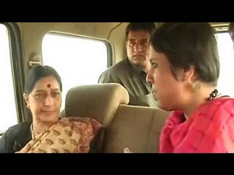 My relationship with Sonia Gandhi is civil, but my position is unchanged: Sushma Swaraj to NDTV