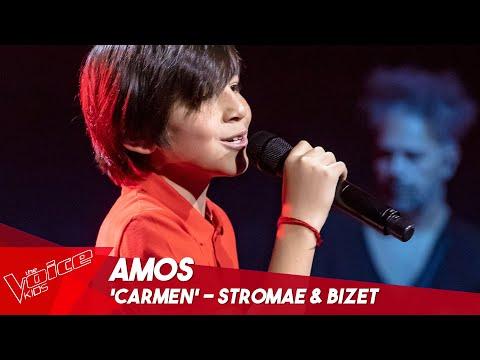 Amos - 'Carmen' | Blind Auditions | The Voice Kids Belgique