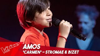 Amos - 'Carmen' | Blind Auditions | The Voice Kids Belgique