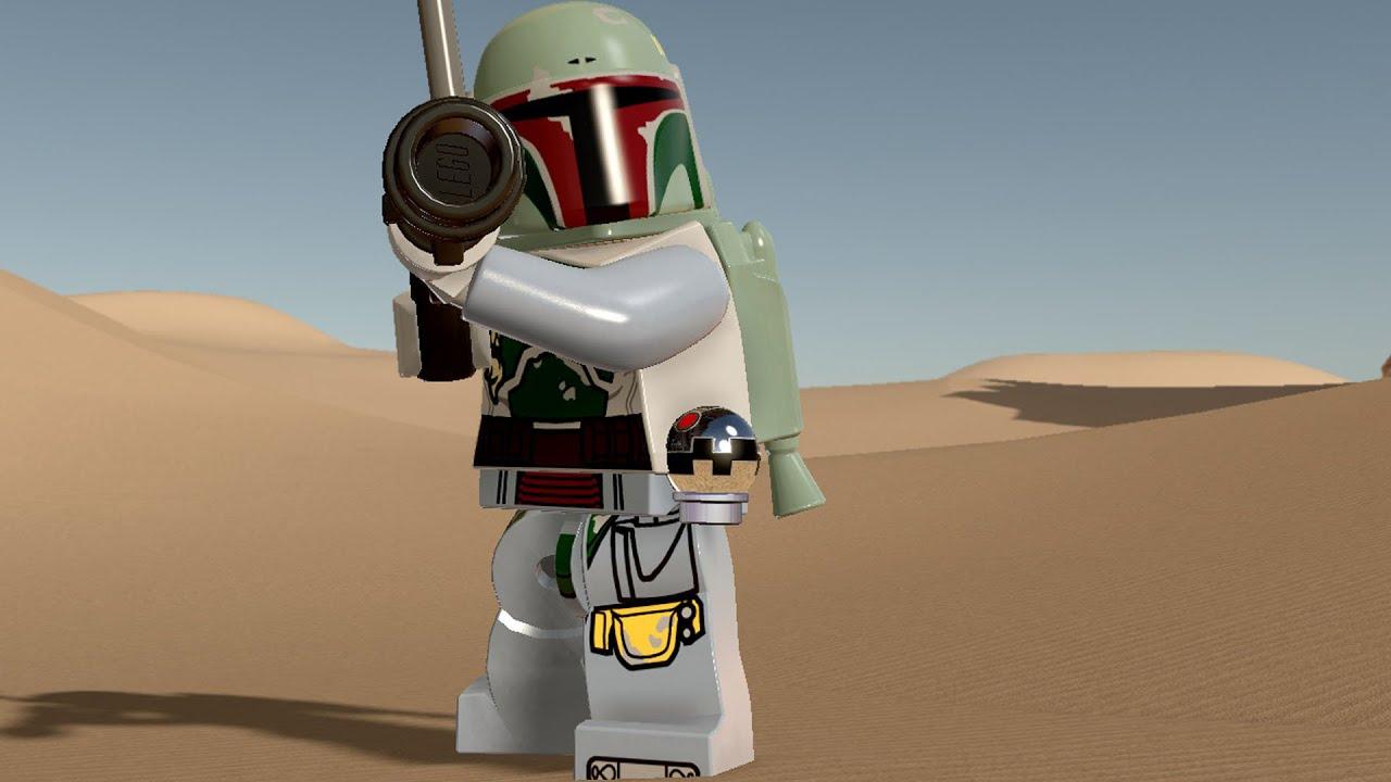 lego star wars: the force awakens - boba fett | free roam gameplay