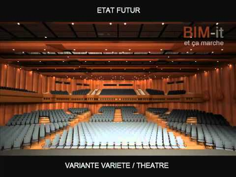Auditorium Stravinski, projet ASAISA