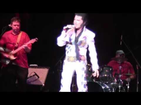 Billy Wade as Elvis Burning Love