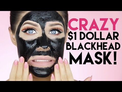 CRAZY $1 DOLLAR BLACKHEAD EXTRACTION MASK!! DOES IT WORK?!