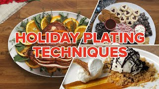 Holiday Plating Techniques • Tasty