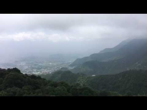 Chandragiri cable car in Nepal 201707