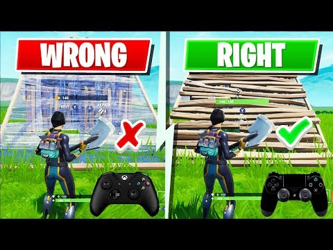 4 Advanced Controller Fortnite Tips I Wish I Knew Earlier! (Xbox + PS4 Tips & Tricks)