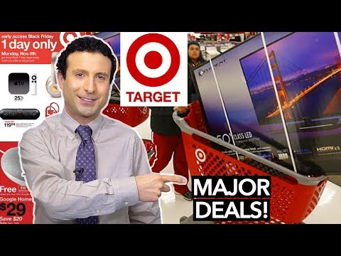 Top 10 Target Black Friday 2017 Deals