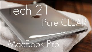 Clear Bump Protection for Your MacBook! - Tech 21 Pure CLEAR Case - MacBook Pro Touch Bar - Review