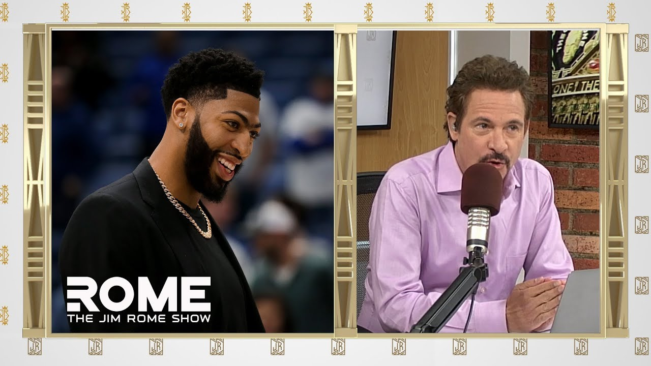 Can Lakers Get Anthony Davis? | The Jim Rome Show