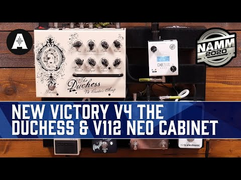 The Ultimate Travel Size Amplifier! - Victory V4 The Duchess + New V112 Neo Cabinet - NAMM 2020