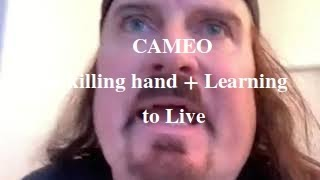 James LaBrie on Cameo - The killing hand + Learning to live [NOV 2020]