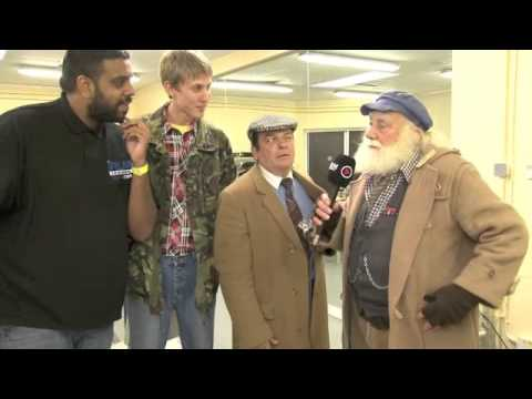 DEL BOY, RODNEY & UNCLE ALBERT (LOOKALIKES) INTERVIEW FOR iFILM LONDON / OFAH CONVENTION 2012