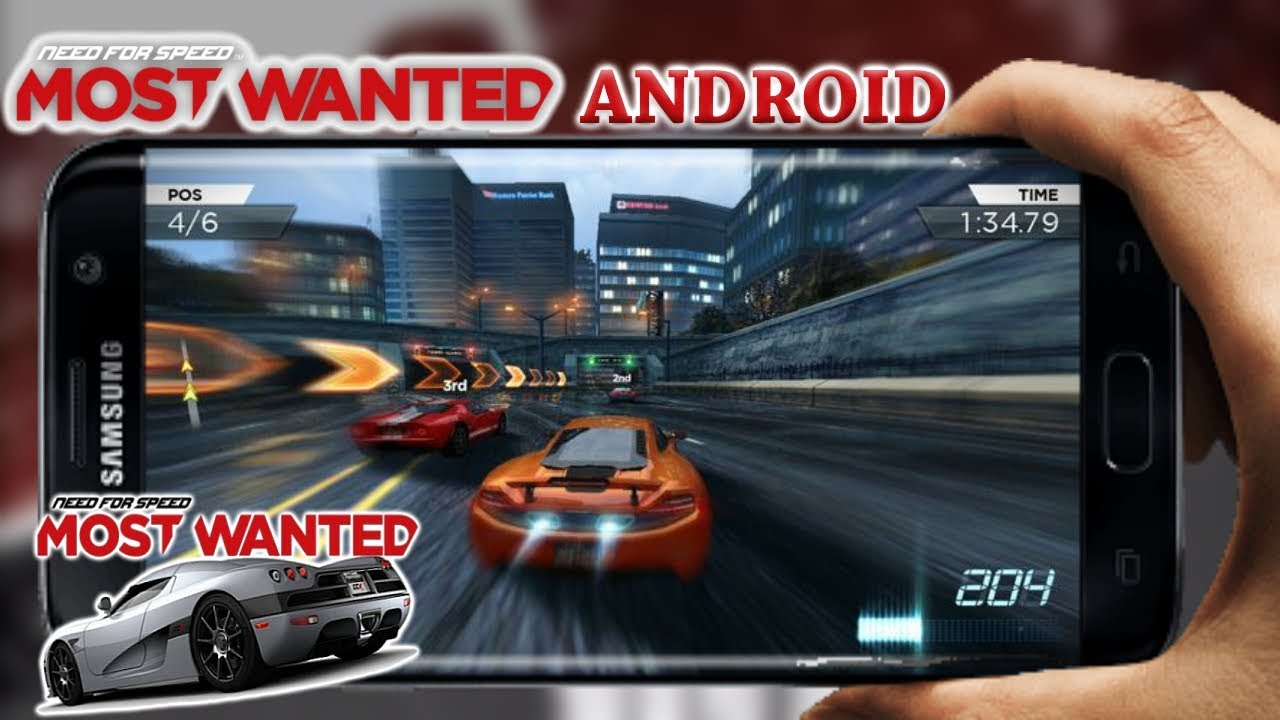 need for speed most wanted apk + obb apkpure