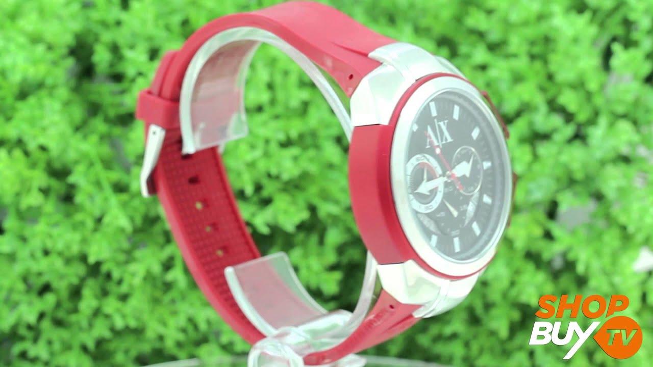 6e715bc4805 Relógio Armani Exchange UAX1040 Z - ShopBuy - YouTube